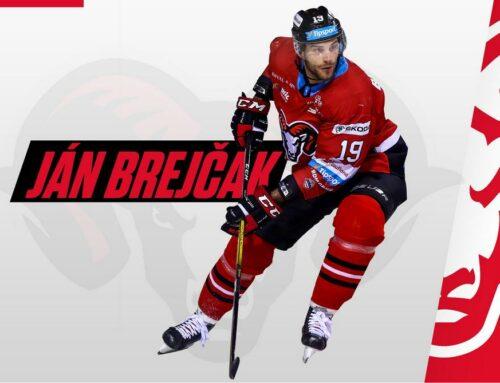 Ján Brejčák podpísal nový ročný kontrakt v HC ´05 Banská Bystrica
