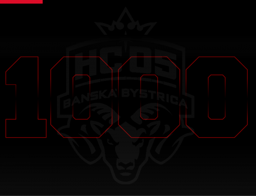 V piatok odohráme jubilejný 1000. ligový zápas v histórii HC ´05