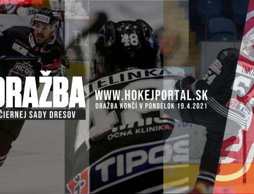 Vydražte si čiernu sadu dresov HC ´05 Banská Bystrica