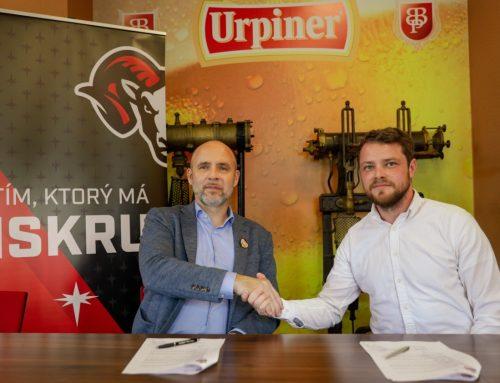 Vedenie klubu spečatilo dohodu s banskobystrickým pivovarom Urpiner